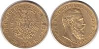 20 Mark 1888 Kaiserreich Preussen Friedric...