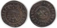 10 Reis 1721 Portugal Joao V. 10 Reis 1721 kl. Prägeschwäche, sehr schö... 55,00 EUR  +  5,00 EUR shipping