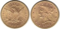 10 Dollars 1894 USA Gold 10 Dollars 1894 G...