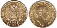 20 Mark 1913 Kaiserreich Sachsen Friedrich...