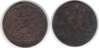 1/2 Cent 1822 Niederlande Brüssel / Wilhel...