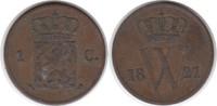 Cent 1821 Niederlande Wilhelm I. 1815-1840...