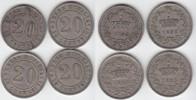20 Centesimi 1895 Italien Umberto I. 1878-1900 (4 Stück) fast vorzüglic... 80,00 EUR  +  5,00 EUR shipping