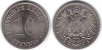 10 Pfennig 1904 Kaiserreich E Prachtexemplar. Fast Stempelglanz / Stemp... 90,00 EUR  +  5,00 EUR shipping