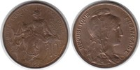 10 Centimes 1898 Frankreich Dritte Republi...
