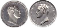 einseitiger Silberabschlag o.J. (1826) Rus...