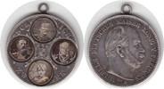 umgearbeitetes 2 Mark Stück o.J. Preussen Wilhelm I. 1861-1888 Vier ein... 75,00 EUR  +  5,00 EUR shipping