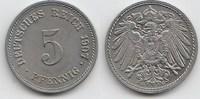 5 Pfennig 1907 G Kaiserreich  Vorzüglich-Stempelglanz  20,00 EUR  +  5,00 EUR shipping