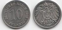 10 Pfennig 1903 Kaiserreich D Fast Stempelglanz  70,00 EUR  +  5,00 EUR shipping