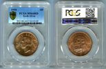Penny 1950 Südafrika  PCGS MS 64 RD