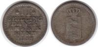 2 Skilling 1837 Dänisch Westindien Frederi...