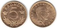 5 Kronor 1920 Schweden Gustav V. 1907-1950 Gold. fast Stempelglanz  155,00 EUR  +  5,00 EUR shipping