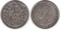 25 Cents 1895 Niederlande Wilhelmina I. 25 Cents 1895 Sehr schön  90,00 EUR  +  5,00 EUR shipping