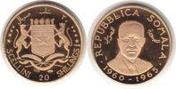20 Shillings 1965 Somalia Republik Gold 20...