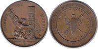Bronzemedaille 1830 Belgien Revolution Bro...