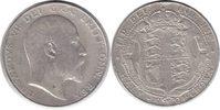 Halfcrown 1904 Grossbritannien Edward VII. Halfcrown 1904 kl. Randfehle... 135,00 EUR  +  5,00 EUR shipping