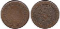 2 1/2 Cent 1881 Niederlande Wilhelm III. 1...
