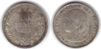 10 Cents 1897 Niederlande Wilhelmina I. 18...
