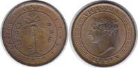Cent 1870 Sri Lanka (Ceylon) Victoria 1837...