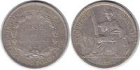 Piaster 1913 A Französische Kolonien Indoc...