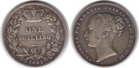 Shilling 1865 (116) Grossbritannien Victor...