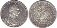 3 Mark 1913 Preussen Wilhelm II. 1888-1918 A, Regierungsjubiläum Minima... 115,00 EUR  +  5,00 EUR shipping