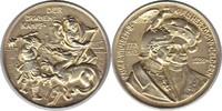 vergoldete Silbermedaille 1913 Brandenburg...