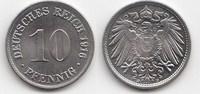 10 Pfennig 1916 D Kaiserreich  Prachtexemp...