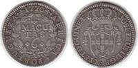 6 Macutas 1770 Portugal-Angola José I. 175...