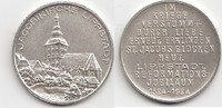 Versilberte Bronzemedaille 1924 Lippstadt ...