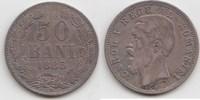 50 Bani 1885 B Rumänien Carol I. 1866-1914...