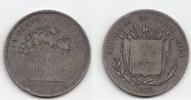50 Centavos 1875 GN Costa Rica Republik se...