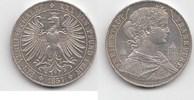 """Taler 1857 Altdeutschland """"Mit Dächer..."""