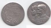 Silbermedaille 1902 Haus Habsburg Franz Jo...
