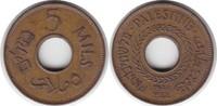 5 Mils 1944 Palästina  vorzüglich - Stempelglanz  60,00 EUR  +  5,00 EUR shipping