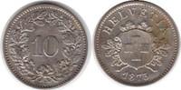 10 Rappen 1873 Schweiz Eidgenossenschaft B...