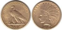 10 Dollars 1910 USA D. Indianer Gold. Vorzüglich  760,00 EUR  +  5,00 EUR shipping