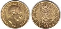 20 Mark 1913 Sachsen Friedrich August III. 1904-1918 E Gold. winz. Krat... 795,00 EUR  +  5,00 EUR shipping