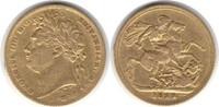 Sovereign 1822 Grossbritannien George IV. 1820-1830 Gold. winz. Randfeh... 895,00 EUR  +  5,00 EUR shipping