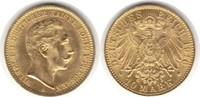 10 Mark 1910 Preussen Wilhelm II. 188-1918 A Gold. fast Stempelglanz  295,00 EUR  +  5,00 EUR shipping