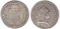 1/6 Taler 1792 Braunschweig-Calenberg-Hannover Georg III. 1760-1820 C, ... 50,00 EUR  +  5,00 EUR shipping