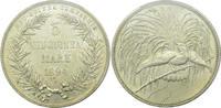5 Mark 1894 Deutsch-Neuguinea Paradiesvogel PCGS MS63