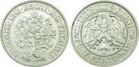 Weimarer Republik Eichbaum, Selten! 5 Mark 1930 E