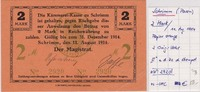 2 MARK v.11.Aug.1914 Srem Polen (vormals P...