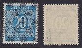 20 Pfg. 1948 Bizone Ziffern mit Posthörnch...