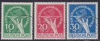 10-30 Pfg. 1949 Berlin Währungsgeschädigte...