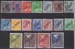 2 Pfg. - 5 M. 1948 Berlin Schwarzaufdruck-...