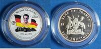 2000 Shill. 1997 Uganda Michael Schumacher...