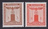 3+8 Pfg 1942 Deutsches Reich Dienst Dienst...