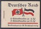 96 Pfg. 1933 Deutsches Reich Markenhefte F...